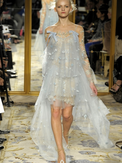 Ginta Lapina for Marchesa