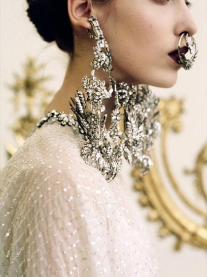 Denija for Givenchy Haute Couture