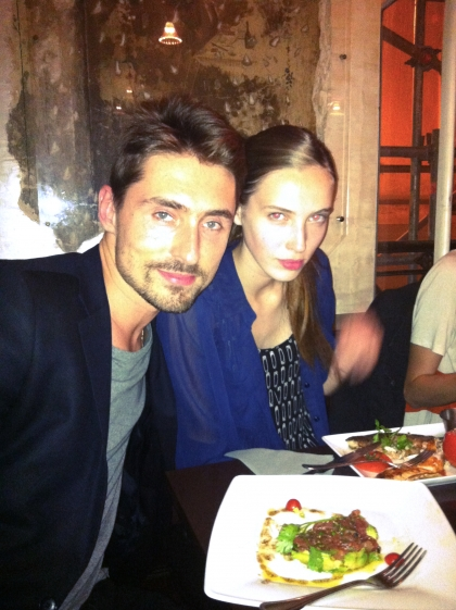 Denija with DANDY founder Nils at Paris