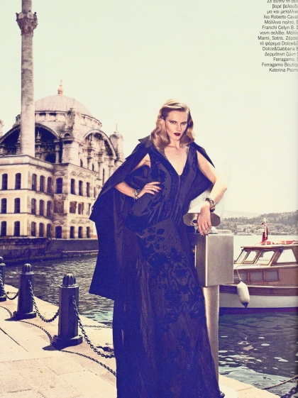 Ieva Laguna for Vogue Hellas October 2011