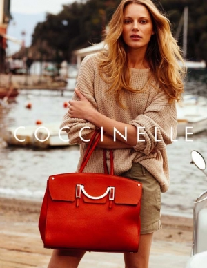 IEVA LAGUNA - NEW FACE OF COCCINELLE