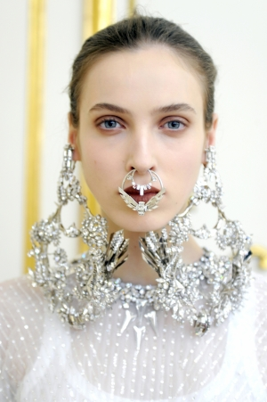 DENIJA FOR GIVENCHY HAUTE COUTURE SS12 PRESENTATION