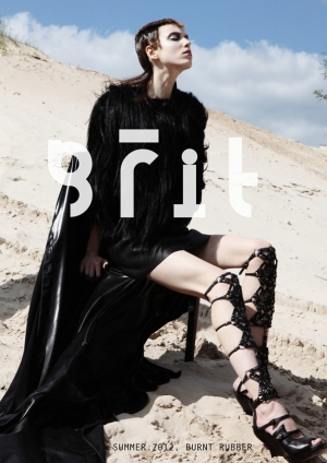 DENIJA FOR GRIT MAGAZINE SUMMER 2012 ISSUE! HOT AS HELL!