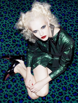 PARTY GINTA  FOR FLAIR MAG DECEMBER 2012