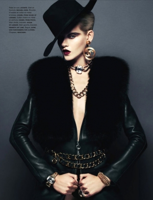 FATALE GINTA FOR NUMERO NOVEMBER 2012