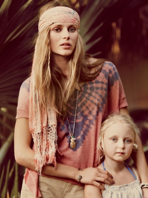 "Ieva Laguna for Free People ""The Dolce Vita"" Catalog"