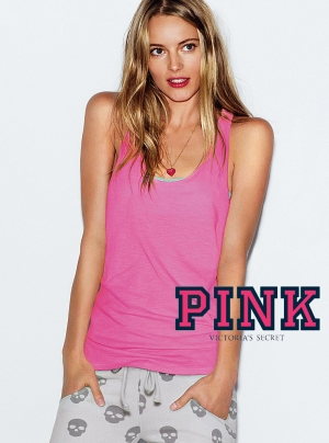 Ieva Laguna for PINK by Victoria's Secret