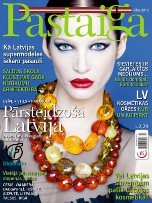 GINTA, IEVA, DENIJA AND MARTA FOR PASTAIGA MAGAZINE JULY 2013
