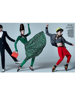 IEVA ASKS YOU TO JOIN THE DANCE! VOGUE BRAZIL MARCH 2014