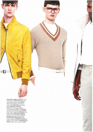 KARLIS FOR BRITISH GQ STYLE SPRING/SUMMER 2014