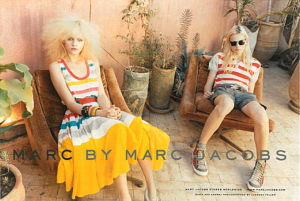 Ginta Lapina in Marc Jacobs Spring/Summer 2011 AD