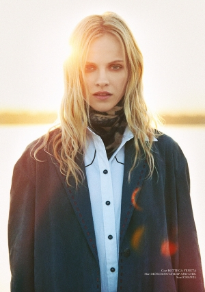 GINTA IS SENSUAL IN GLASS MAGAZINE LATEST ISSUE