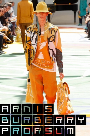 KARLIS & ARNIS AT LONDON FASHION WEEK S/S15