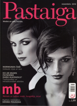 Mara & Viktorija on the covers of Pastaiga & Pastaiga.RU