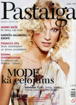 Zane Zabere for Pastaiga & Pastaiga.ru magazines