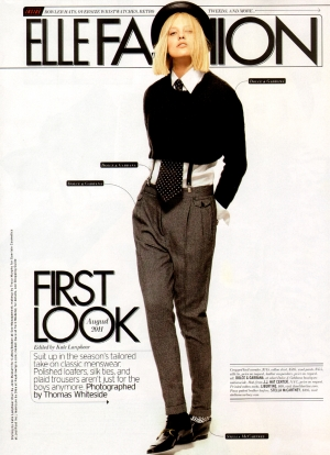 Dace for ELLE Fashion USA August 2011
