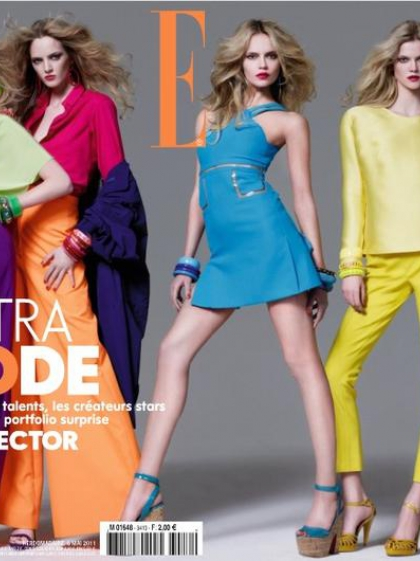Elle France May 2011 Cover